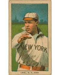 Joe Lake, New York Highlanders by American Tobacco Company