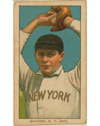Rube Manning, New York Highlanders by American Tobacco Company