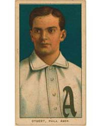Jimmy Dygert, Philadelphia Athletics by American Tobacco Company