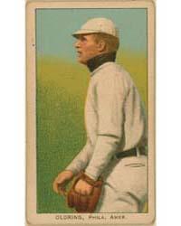 Rube Oldring, Philadelphia Athletics by American Tobacco Company