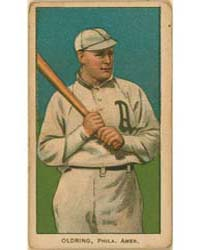 Rube Oldring, Philadelphia Athletics by American Tobacco Company