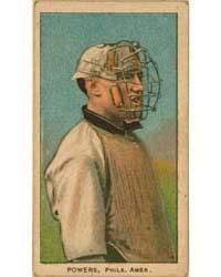 Mike Powers, Philadelphia Athletics by American Tobacco Company