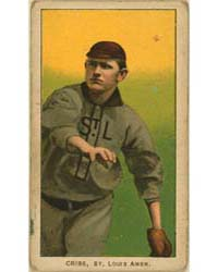 Dode Criss, St. Louis Browns by American Tobacco Company