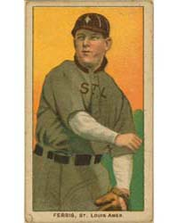 Hobe Ferris, St. Louis Browns by American Tobacco Company