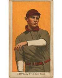 Danny Hoffman, St. Louis Browns by American Tobacco Company