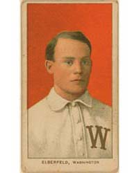 Kid Elberfeld, Washington Nationals by American Tobacco Company