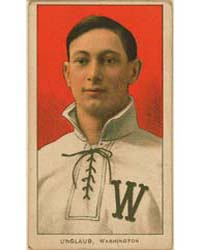 Bob Unglaub, Washington Nationals by American Tobacco Company