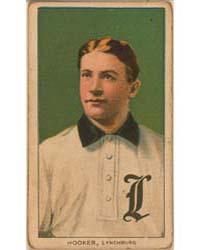 Bock Hooker, Lynchburg Team, Baseball Ca... by American Tobacco Company