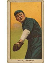 Al Orth, Lynchburg Team, Baseball Card P... by American Tobacco Company
