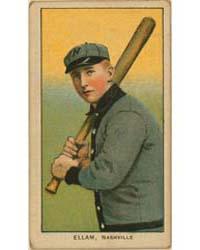 Roy Ellam, Nashville Team, Baseball Card... by American Tobacco Company