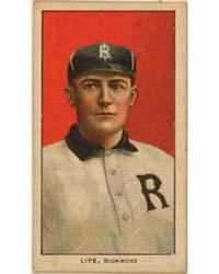 Perry Lipe, Richmond Team, Baseball Card... by American Tobacco Company