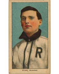 Ray Ryan, Roanoke Team, Baseball Card Po... by American Tobacco Company