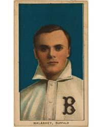 Bill Malarkey, Buffalo Team, Baseball Ca... by American Tobacco Company