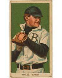 Dummy Taylor, Buffalo Team, Baseball Car... by American Tobacco Company