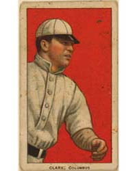 Clarke, Columbus Team, Baseball Card Por... by American Tobacco Company