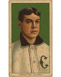 Bunk Congalton, Columbus Team, Baseball ... by American Tobacco Company