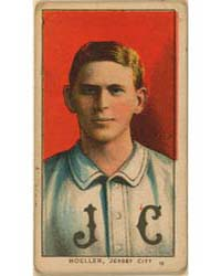 Dan Moeller, Jersey City Team, Baseball ... by American Tobacco Company