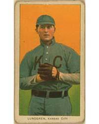 Carl Lundgren, Kansas City Team, Basebal... by American Tobacco Company