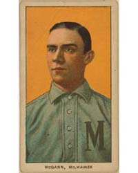 Dan McGann, Milwaukee Team, Baseball Car... by American Tobacco Company