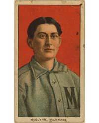 Stoney McGlynn, Milwaukee Team, Baseball... by American Tobacco Company