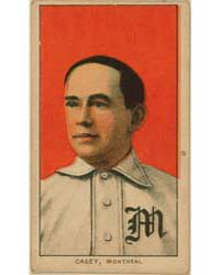 Doc Casey, Montreal Team, Baseball Card ... by American Tobacco Company