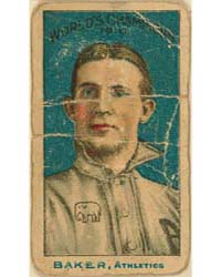Frank Baker, Philadelphia Athletics by Nadja Caramel Company