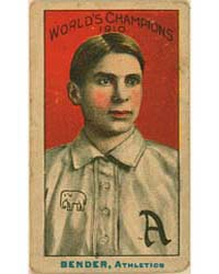 Chief Bender, Philadelphia Athletics by Nadja Caramel Company