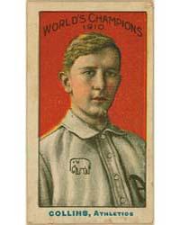 Eddie Collins, Philadelphia Athletics by Nadja Caramel Company