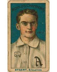 Jimmy Dygert, Philadelphia Athletics by Nadja Caramel Company