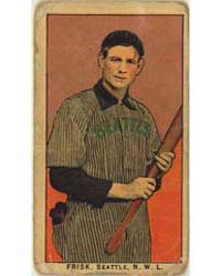 Frisk, Seattle Team, Baseball Card Portr... by American Tobacco Company