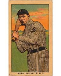 Weed, Spokane Team, Baseball Card Portra... by American Tobacco Company
