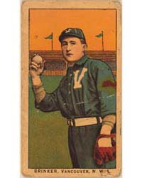 Brinker, Vancouver Team, Baseball Card P... by American Tobacco Company