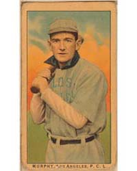 Murphy, Los Angeles Team, Baseball Card ... by American Tobacco Company