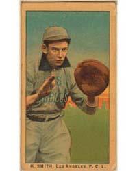 H. Smith, Los Angeles Team, Baseball Car... by American Tobacco Company