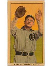Manush, Oakland Team, Baseball Card Port... by American Tobacco Company