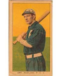 Ort, Portland Team, Baseball Card Portra... by American Tobacco Company