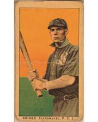 Briggs, Sacramento Team, Baseball Card P... by American Tobacco Company