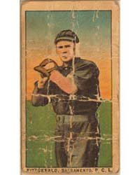 Fitzgerald, Sacramento Team, Baseball Ca... by American Tobacco Company