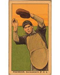 Fournier, Sacramento Team, Baseball Card... by American Tobacco Company