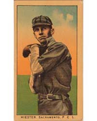 Hiester, Sacramento Team, Baseball Card ... by American Tobacco Company