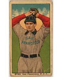 Byrd, San Francisco Team, Baseball Card ... by American Tobacco Company