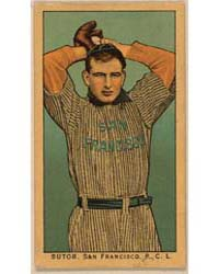 Sutor, San Francisco Team, Baseball Card... by American Tobacco Company