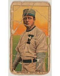Brashear, Vernon Team, Baseball Card Por... by American Tobacco Company