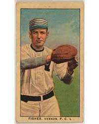 Fisher, Vernon Team, Baseball Card Portr... by American Tobacco Company