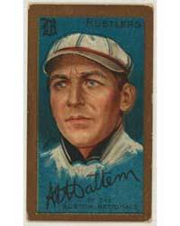 A. A. Mattern, Boston Rustlers, Baseball... by American Tobacco Company