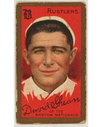 David Shean, Boston Rustlers, Baseball C... by American Tobacco Company