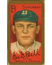 George G. Bell, Brooklyn Superbas, Baseb... by American Tobacco Company