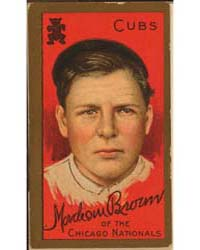 Mordecai Brown, Chicago Cubs, Baseball C... by American Tobacco Company