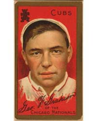 George F. Graham, Chicago Cubs, Baseball... by American Tobacco Company