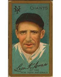 Leon Ames, New York Giants, Baseball Car... by American Tobacco Company